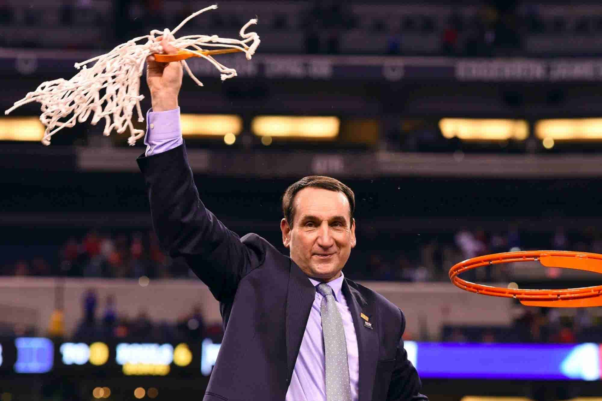 What Coach K Can Teach You About Leadership and the Morning Habits of NBA Stars