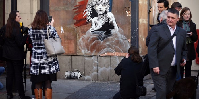 How to Be Like Banksy and Reap Massive Exposure Through Guerilla Marketing