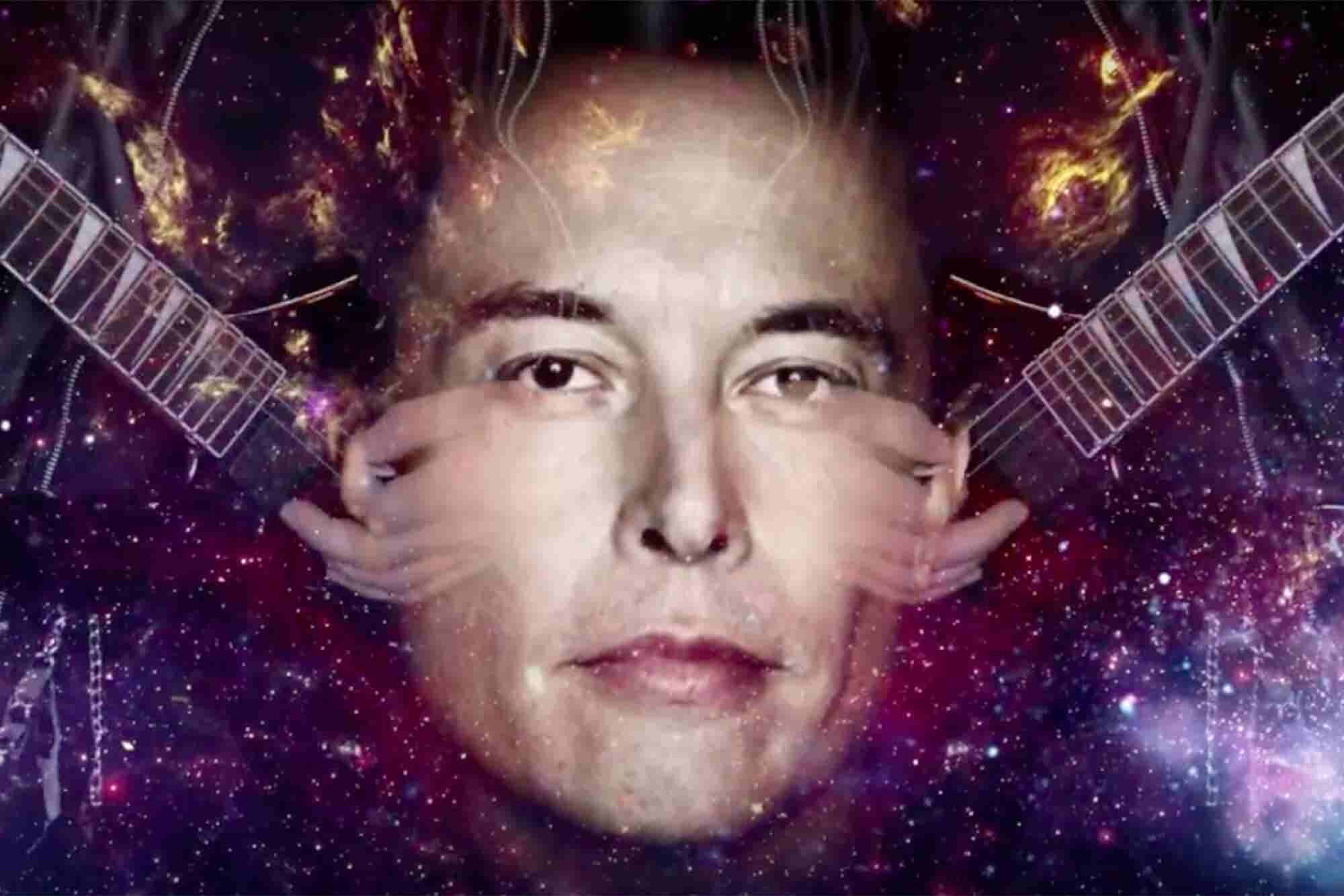 This Elon Musk Heavy Metal Music Video Will Rock You Into the Future