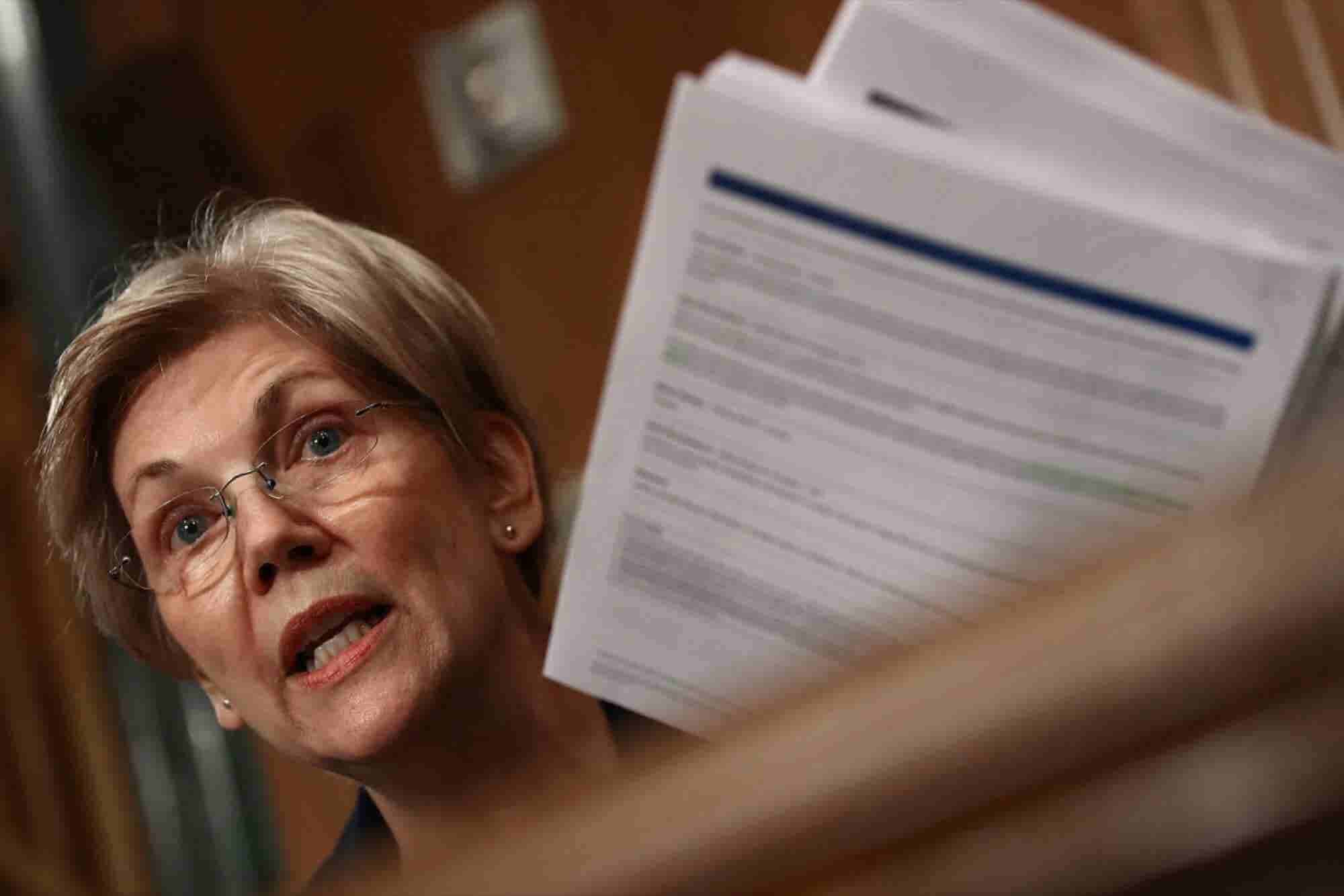Read Elizabeth Warren's Epic Smackdown of Wells Fargo CEO
