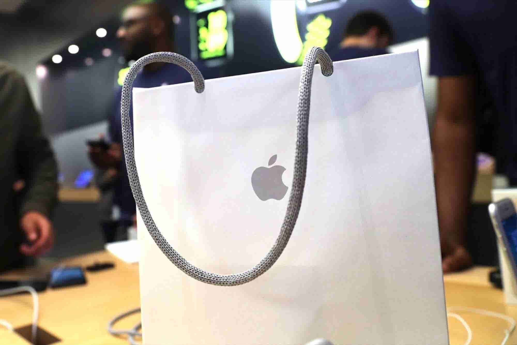 Apple Files a Patent for a Paper Bag