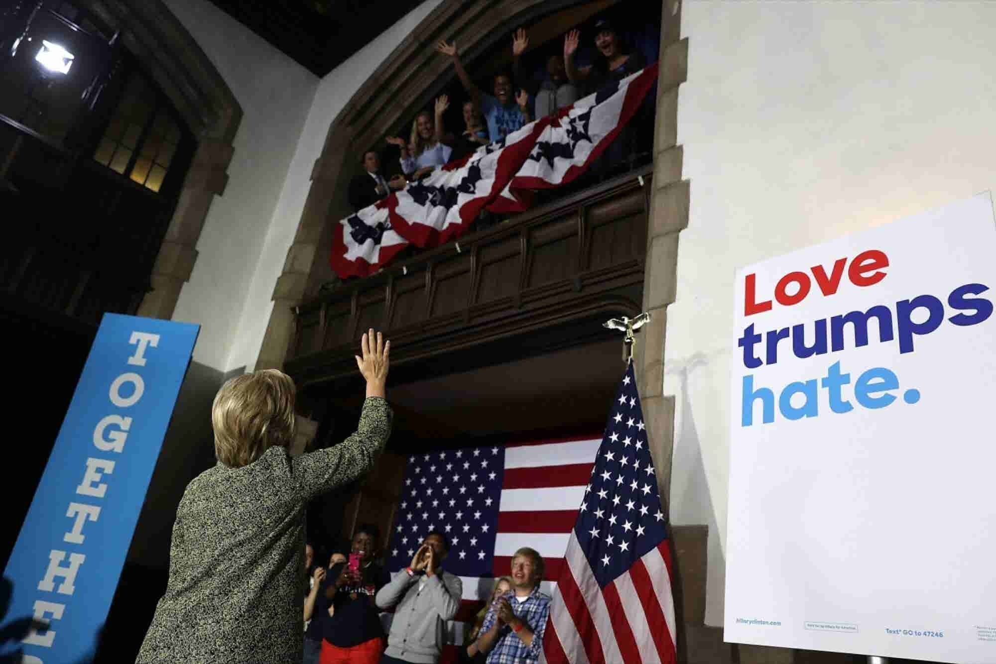 Here's What Brands Can Learn From Hillary's Grassroots 'Differentiator...