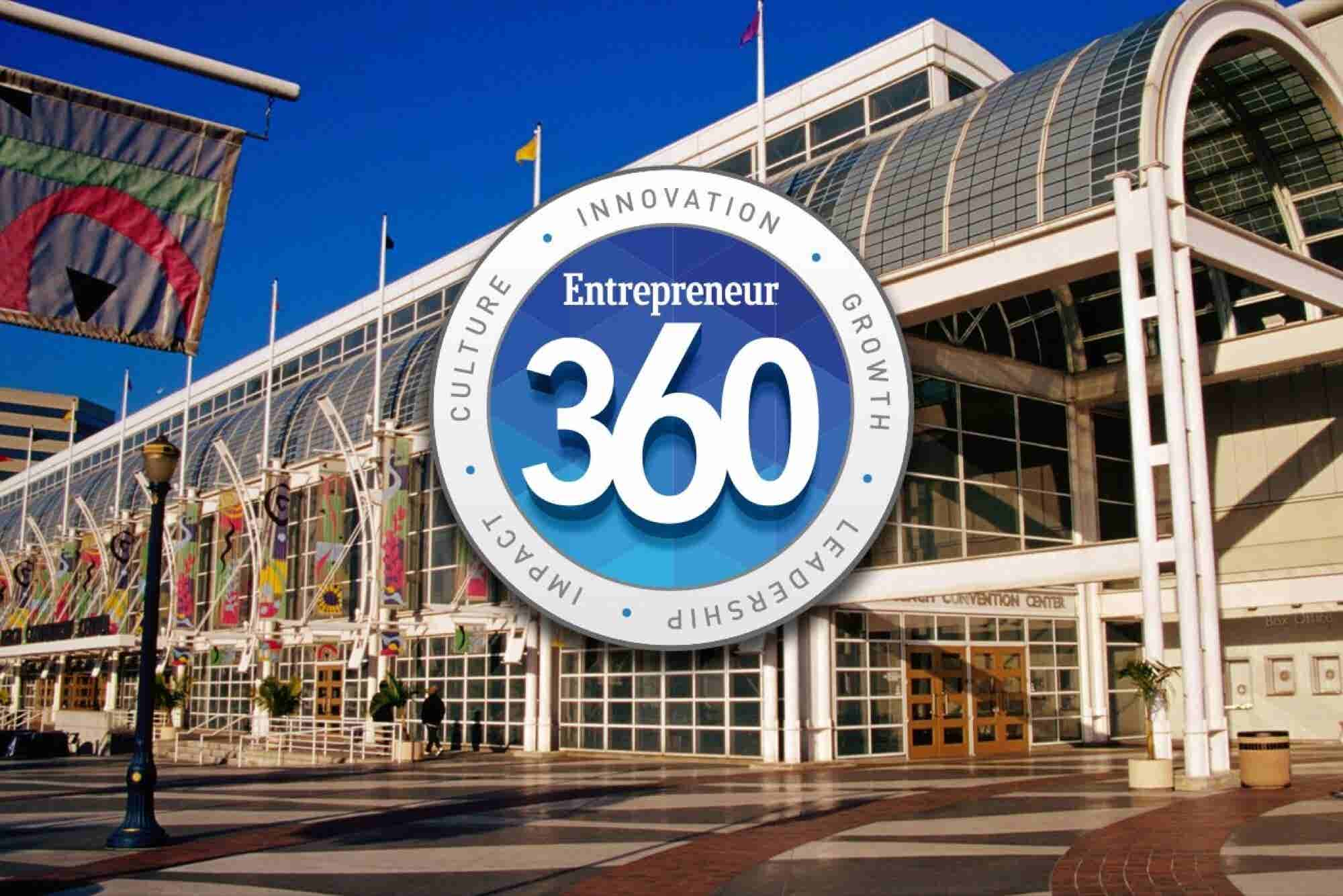 Join Us at the Entrepreneur 360™ Conference on November 16
