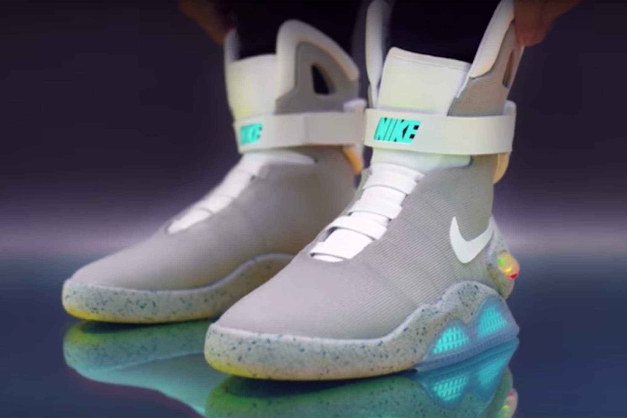 73f6eb3f8cd0e1 Nike s Self-Lacing  Back to the Future  Sneaker Is Here and Is Cooler Than  You Think