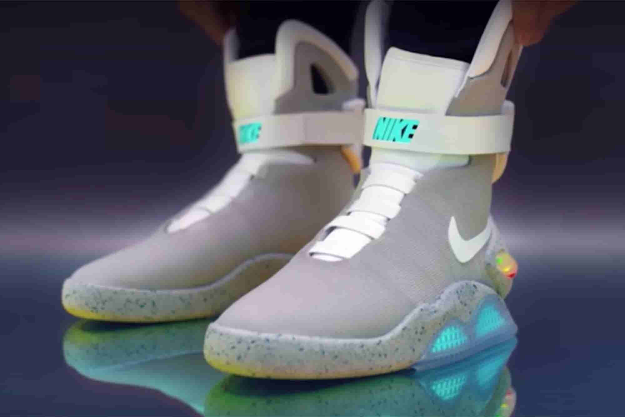 Nike's Self-Lacing 'Back to the Future' Sneaker Is Here and Is Cooler...