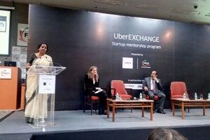 Nirmala Sitharaman Launches UberPITCH 2016 Challenge For Women Entrepreneurs