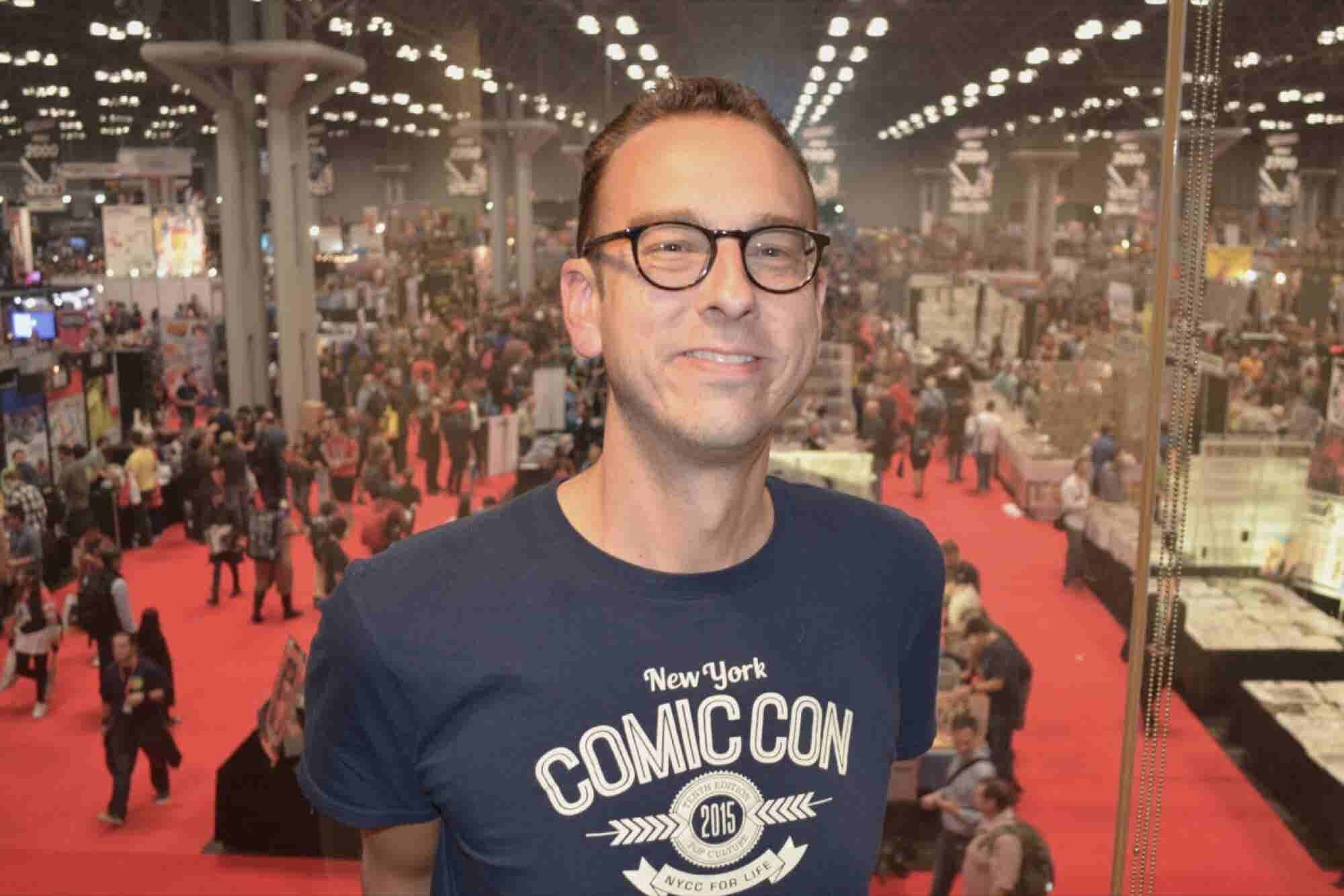 Meet the Evil Genius Behind New York Comic Con