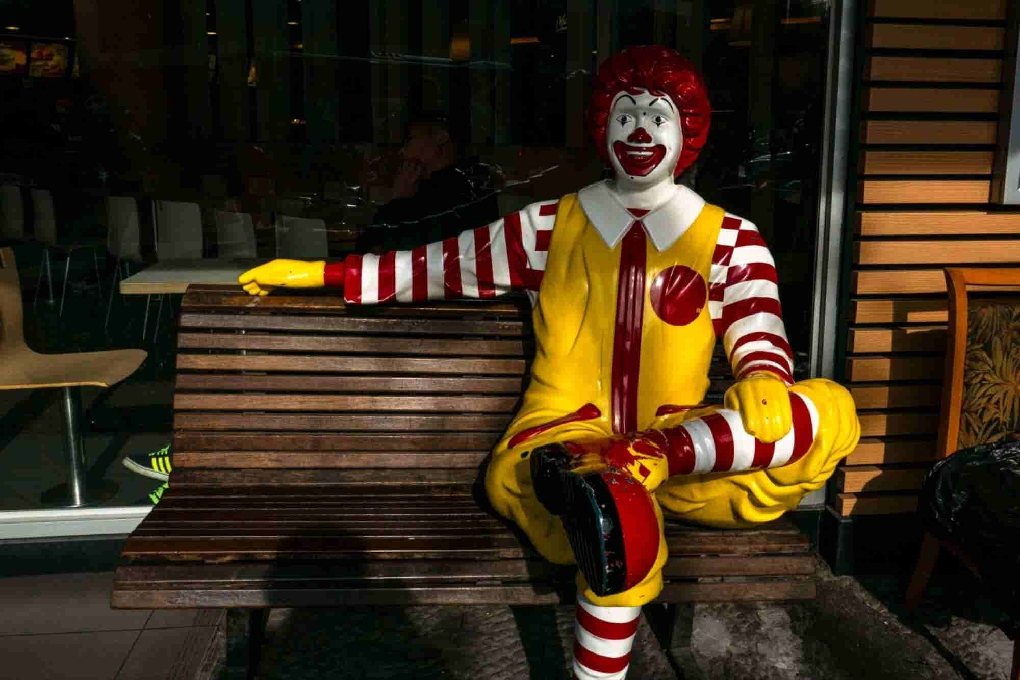 Creepy Clown Panic Forces Ronald McDonald Into Witness Protection Program