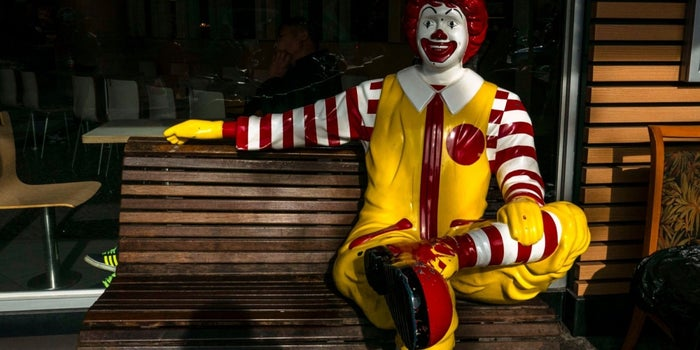 Creepy Clown Panic Forces Ronald McDonald Into Witness Protection Program