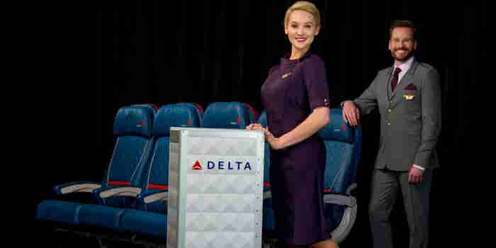 Check Out Delta's Flashy New Uniforms