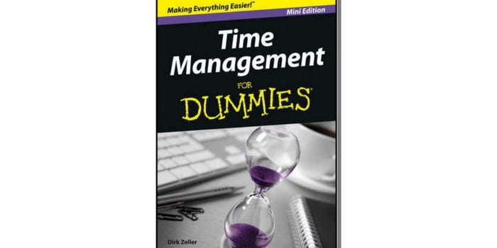 'Time Management For Dummies' eBook Free For a Limited Time