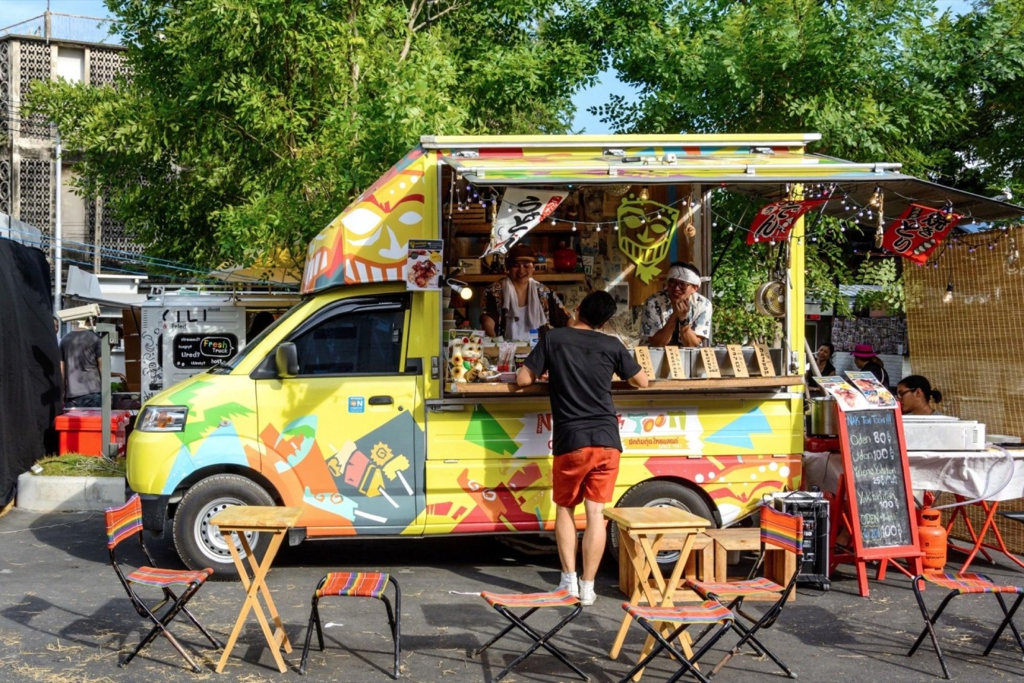 Camiones para vender comida rapida