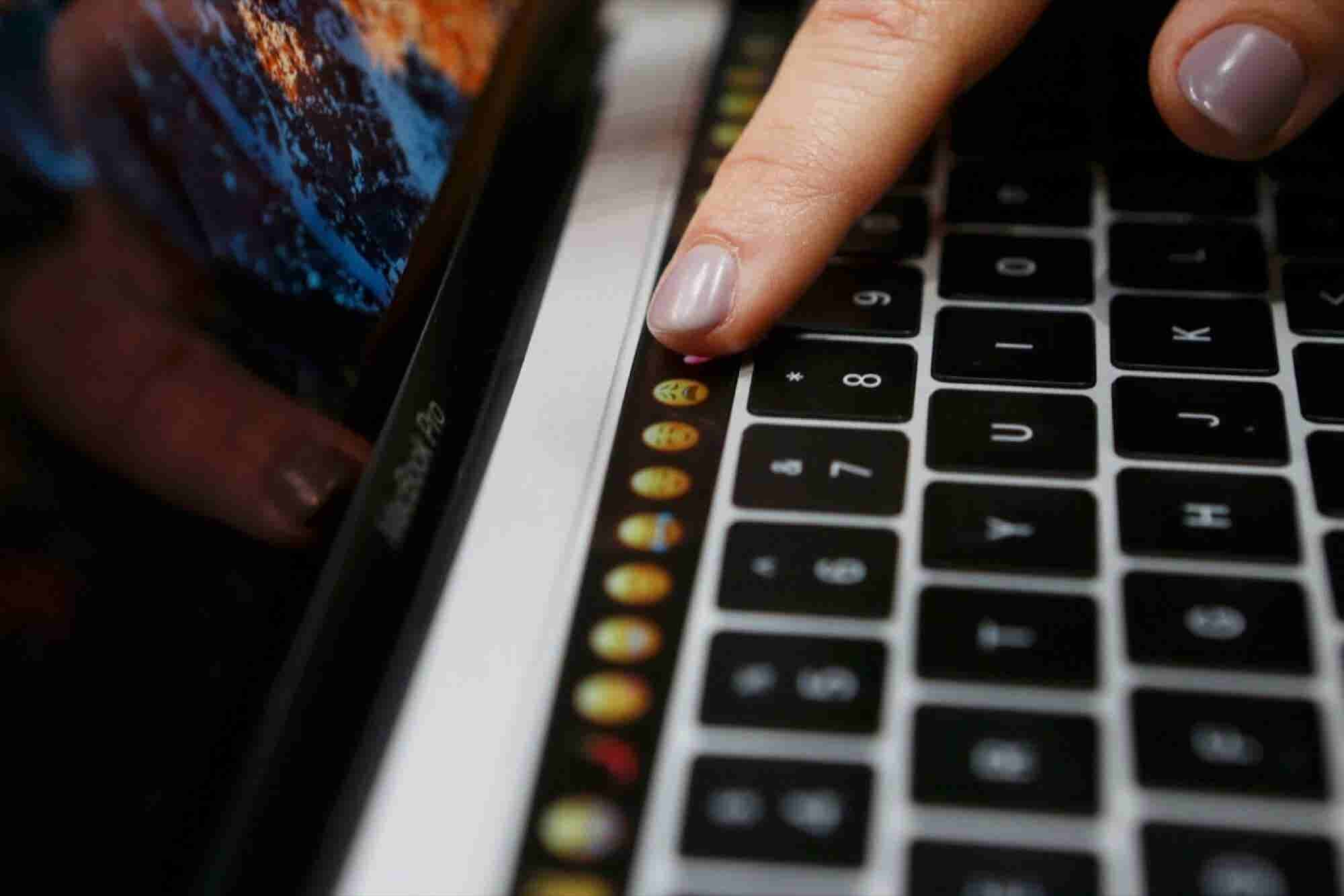 Apple Adds Touch Screen Keys to MacBook Pro