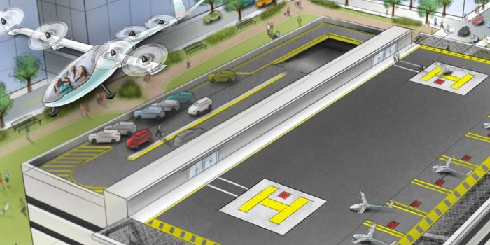 Uber Hopes to Fly Around Commuters in 10 Years