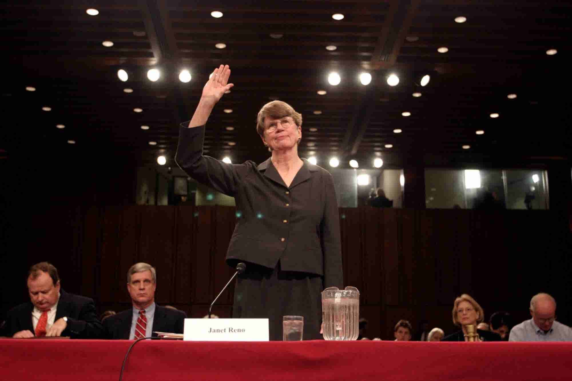 7 Inspiring Quotes About Hard Work From Janet Reno