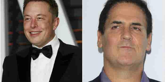 Por qué Elon Musk y Mark Cuban no votaron por Trump