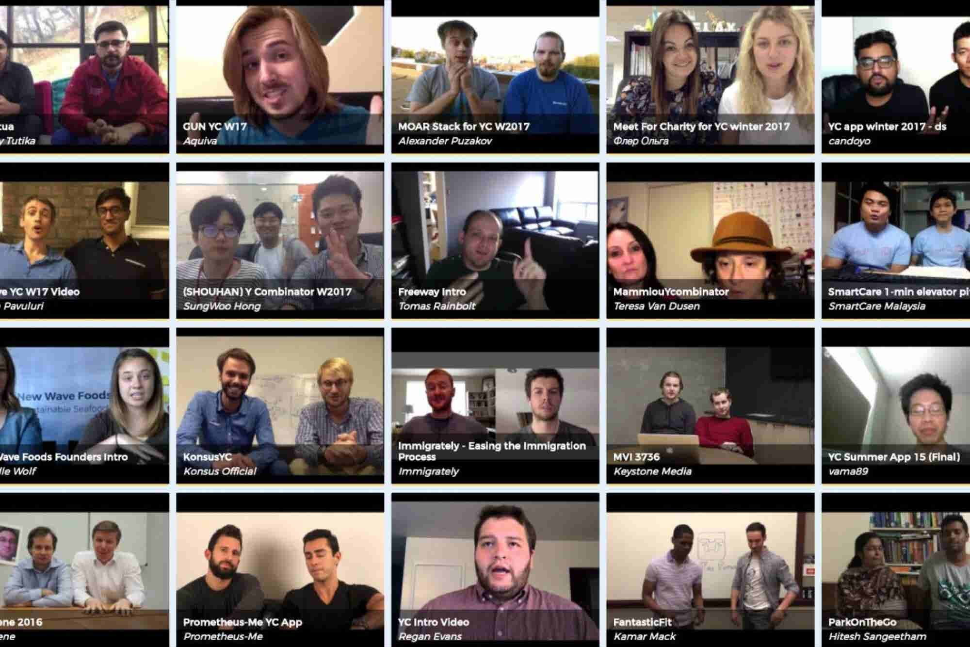 Get Inspired by This Tool That Lets You Browse People's Startup Pitche...