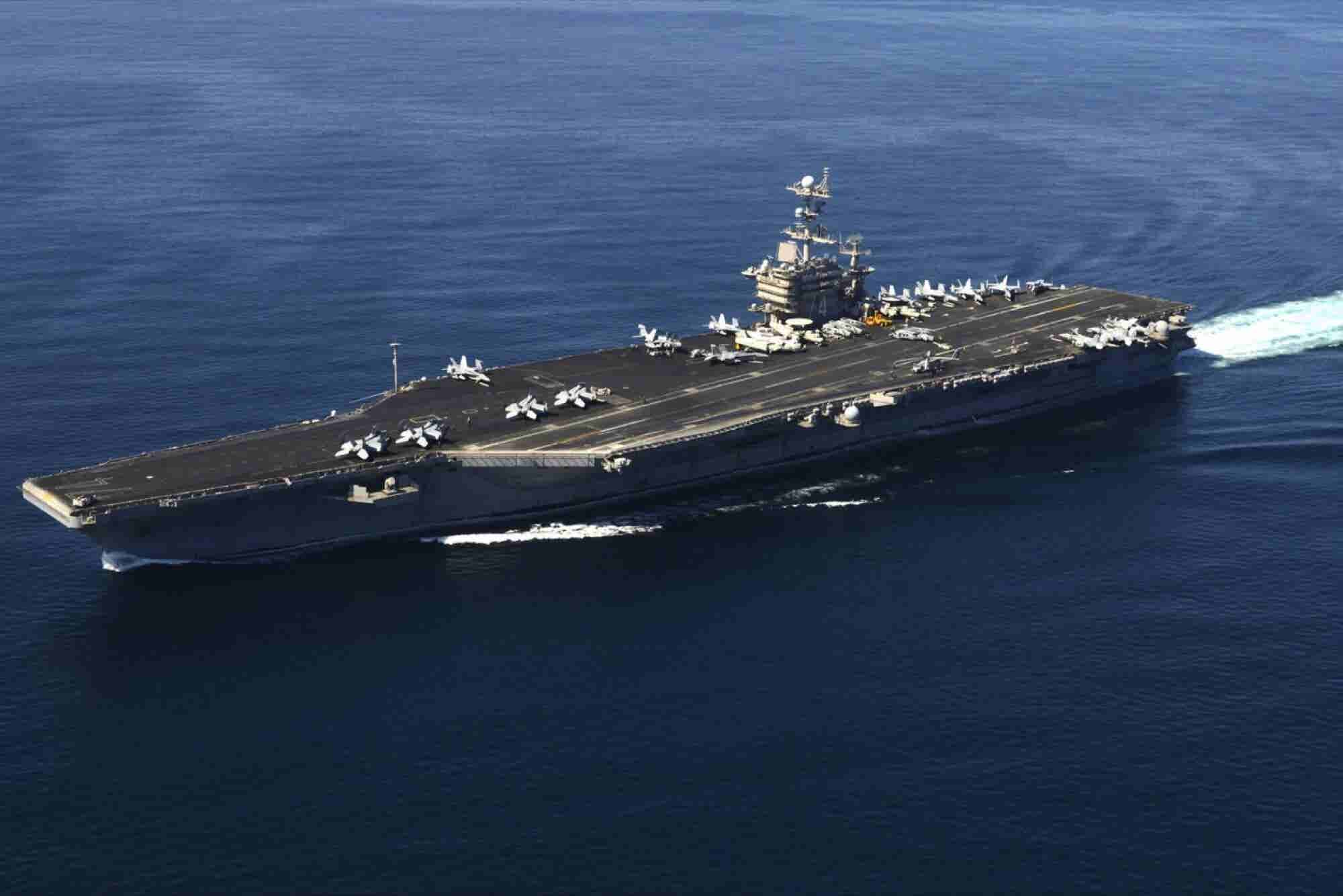 24 Hours on the 'USS Stennis': Why I Committed to Hiring Veterans
