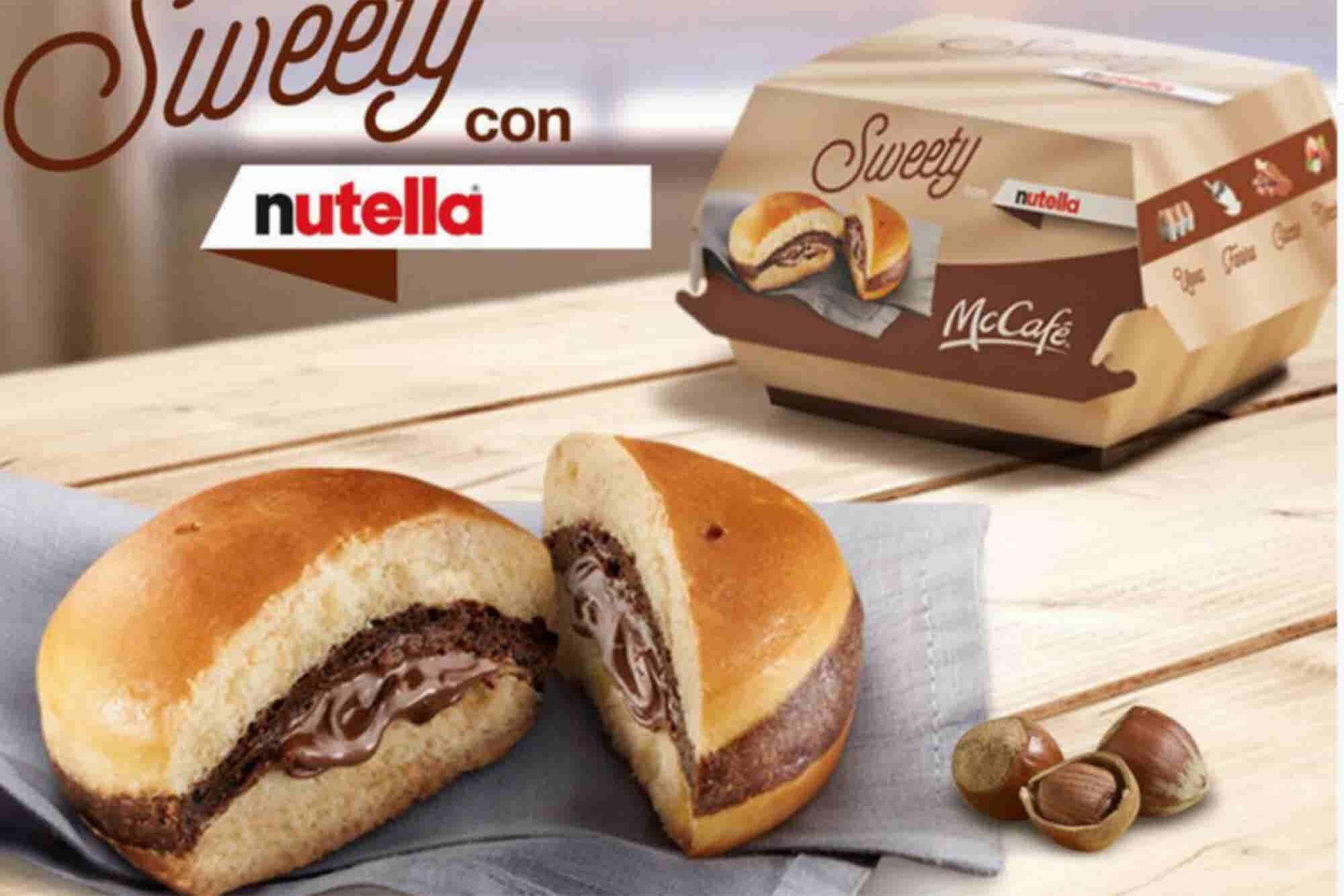 ¿Hamburguesa de Nutella? McDonald's estrena un nuevo tipo de postre