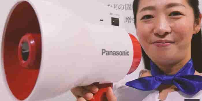 Panasonic's Multilingual Megaphone Translates as You Speak