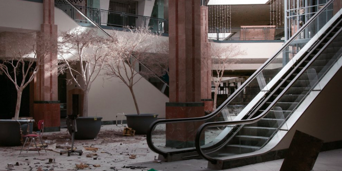 Photographer's Creepy Photos of Closed Down Mall Go Viral