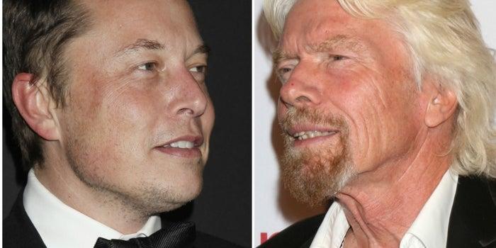 Richard Branson y Elon Musk, ¿enemigos espaciales?