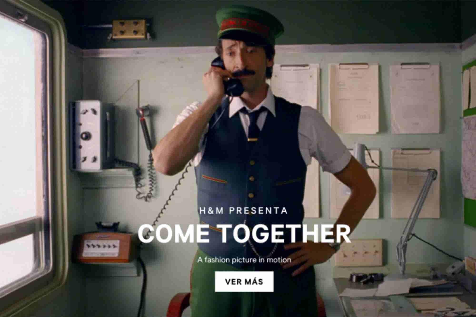 Wes Anderson y Adrien Brody traen la Navidad a H&M