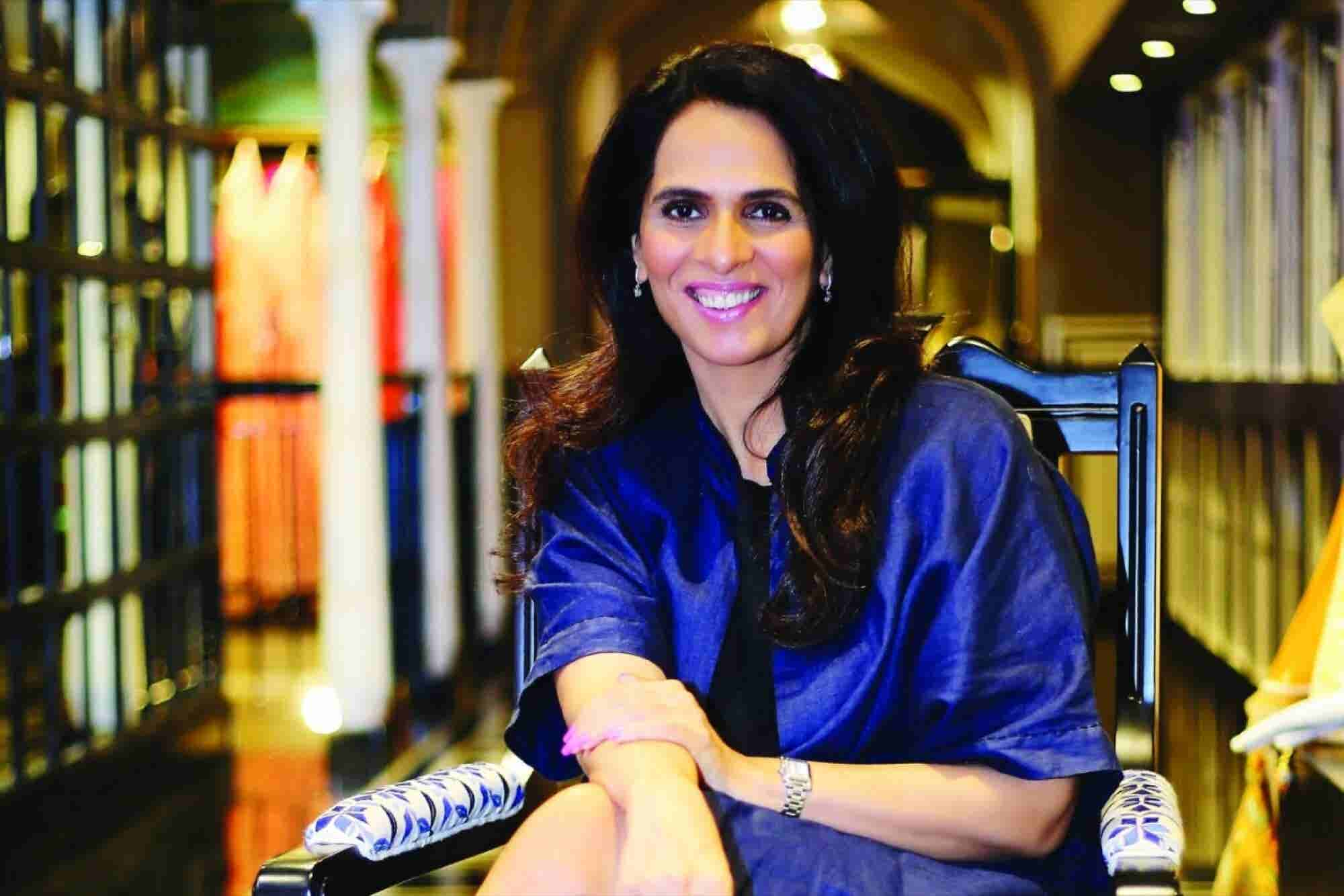 Combining Creativity With Commercials is World-famous Designer Anita Dongre