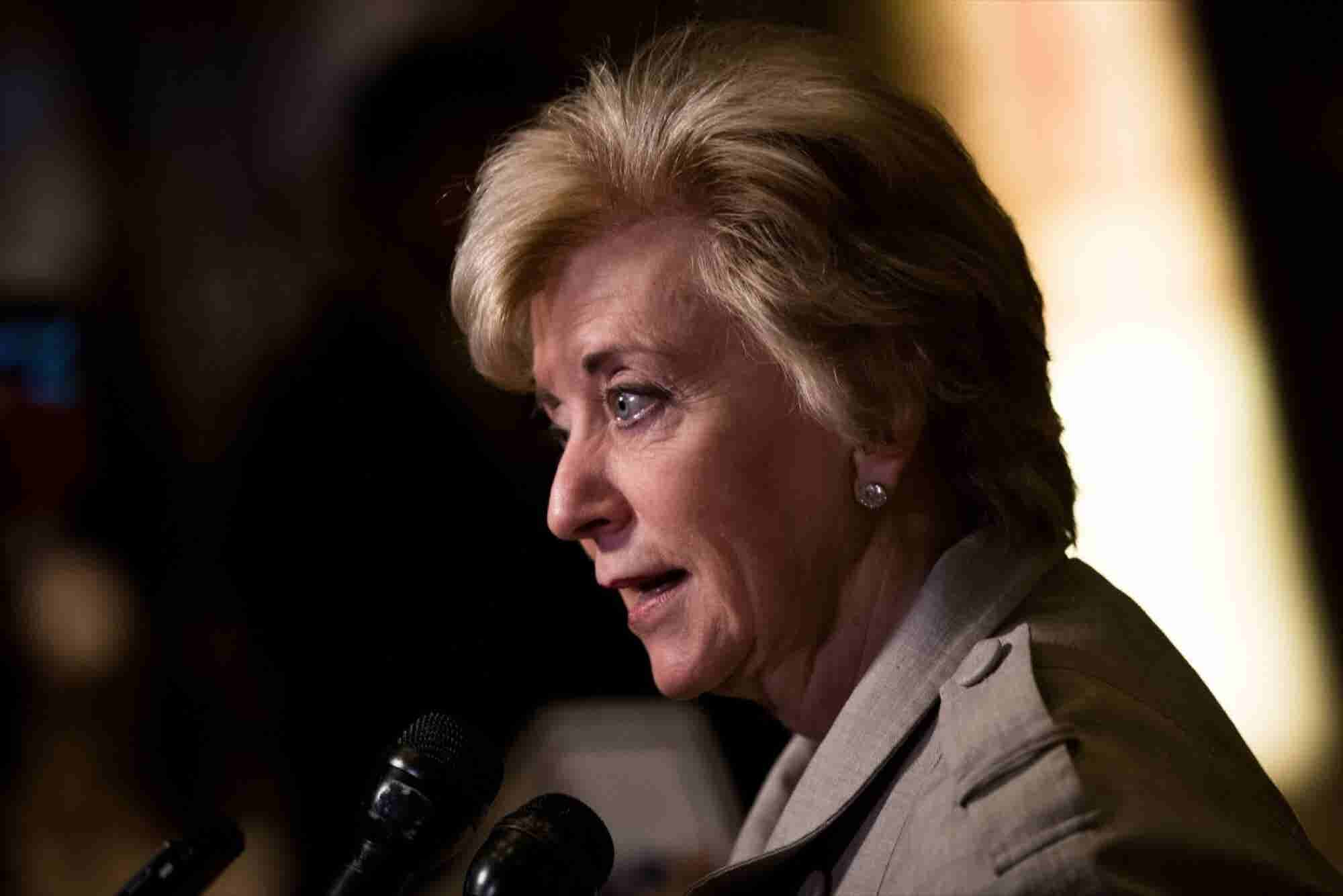 Trump Chooses Pro Wrestling Magnate Linda McMahon to Head SBA