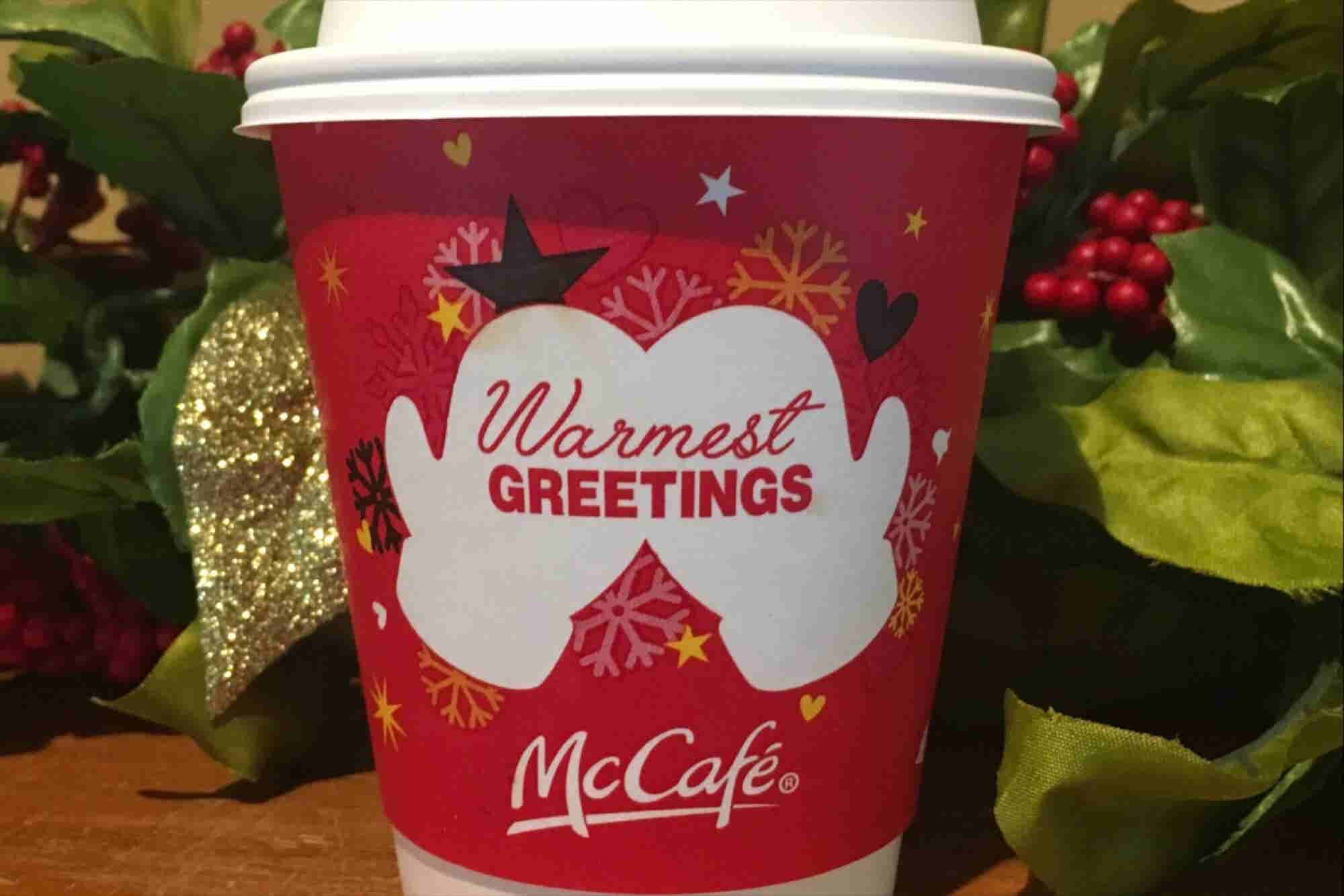 A Guy Just Totally Ruined McDonald's Holiday Cups With a Simple Drawing