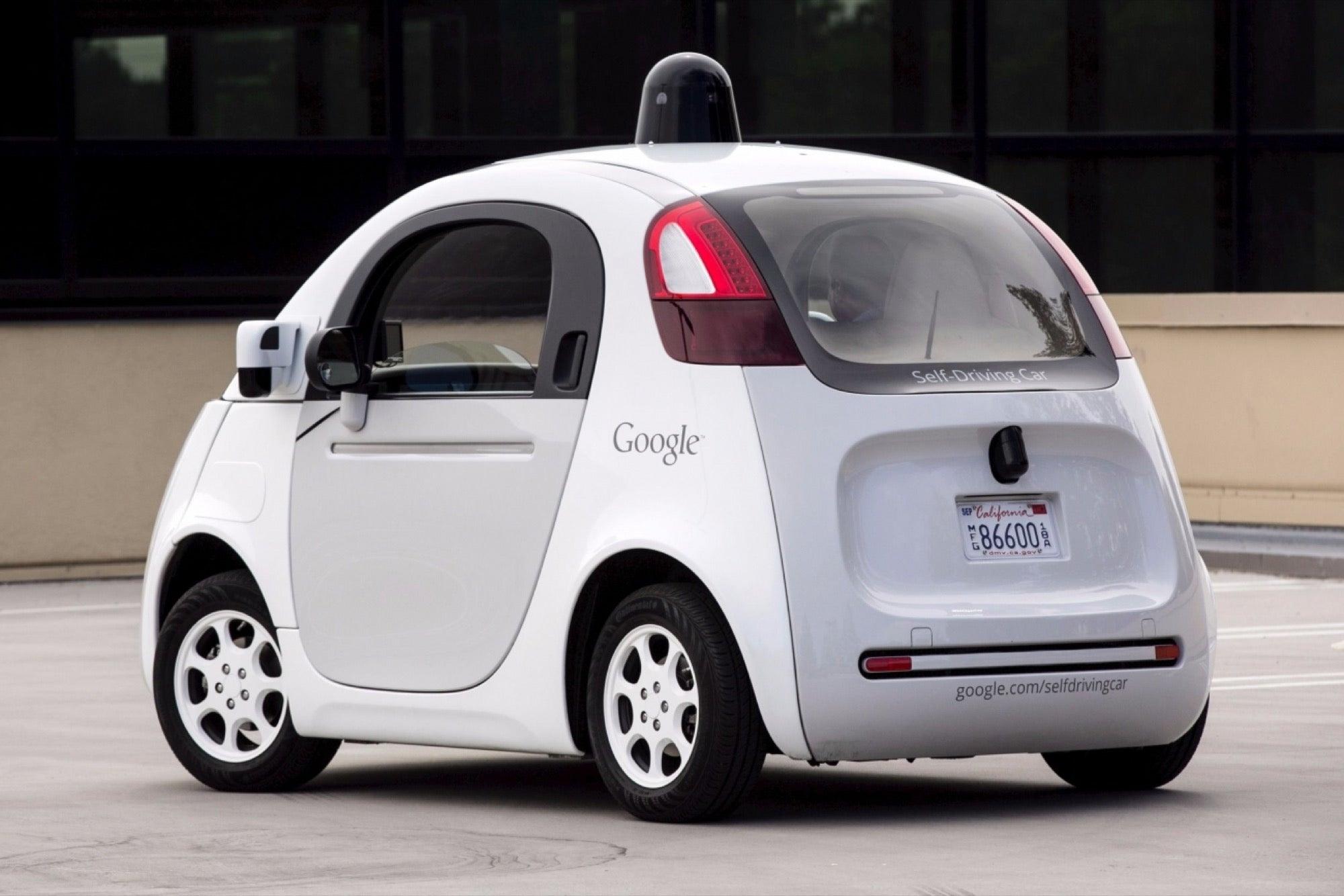 Resultado de imagem para google self driving car