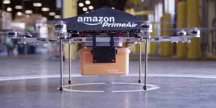 Amazon Completes Its First Drone-Powered Delivery