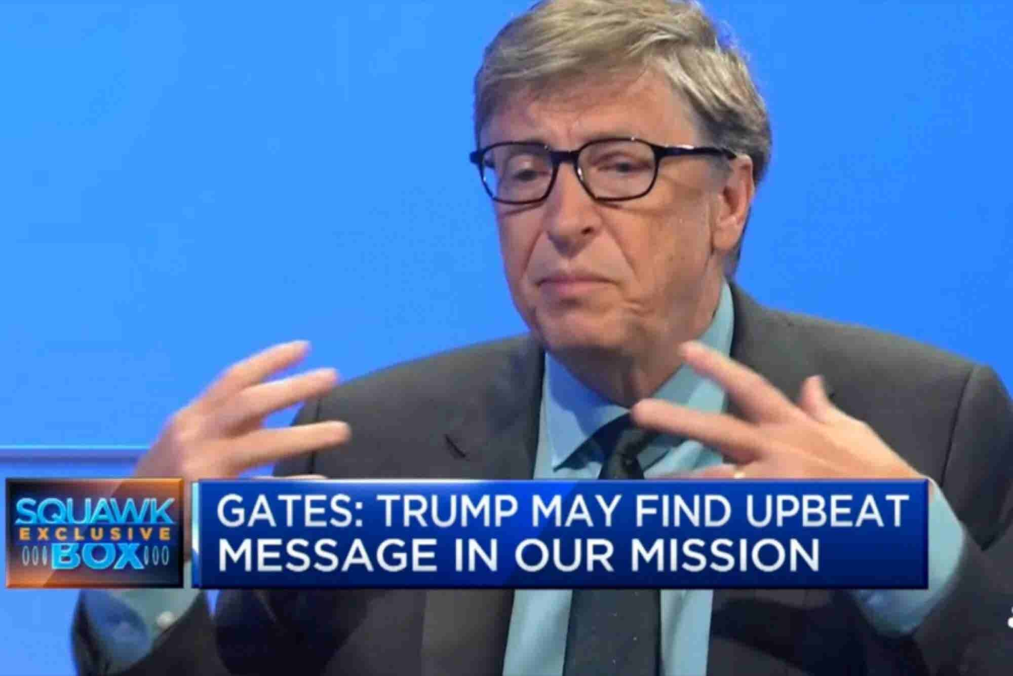 Bill Gates: Trump's Messaging Strategy Reminds Me of John F. Kennedy