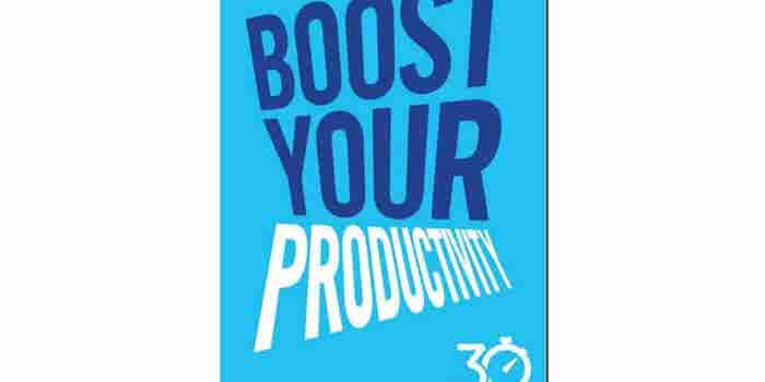 'Boost Your Productivity' eBook Free for a Limited Time