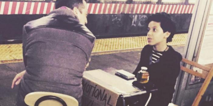 """El niño que es el """"consejero"""" de Nueva York"""