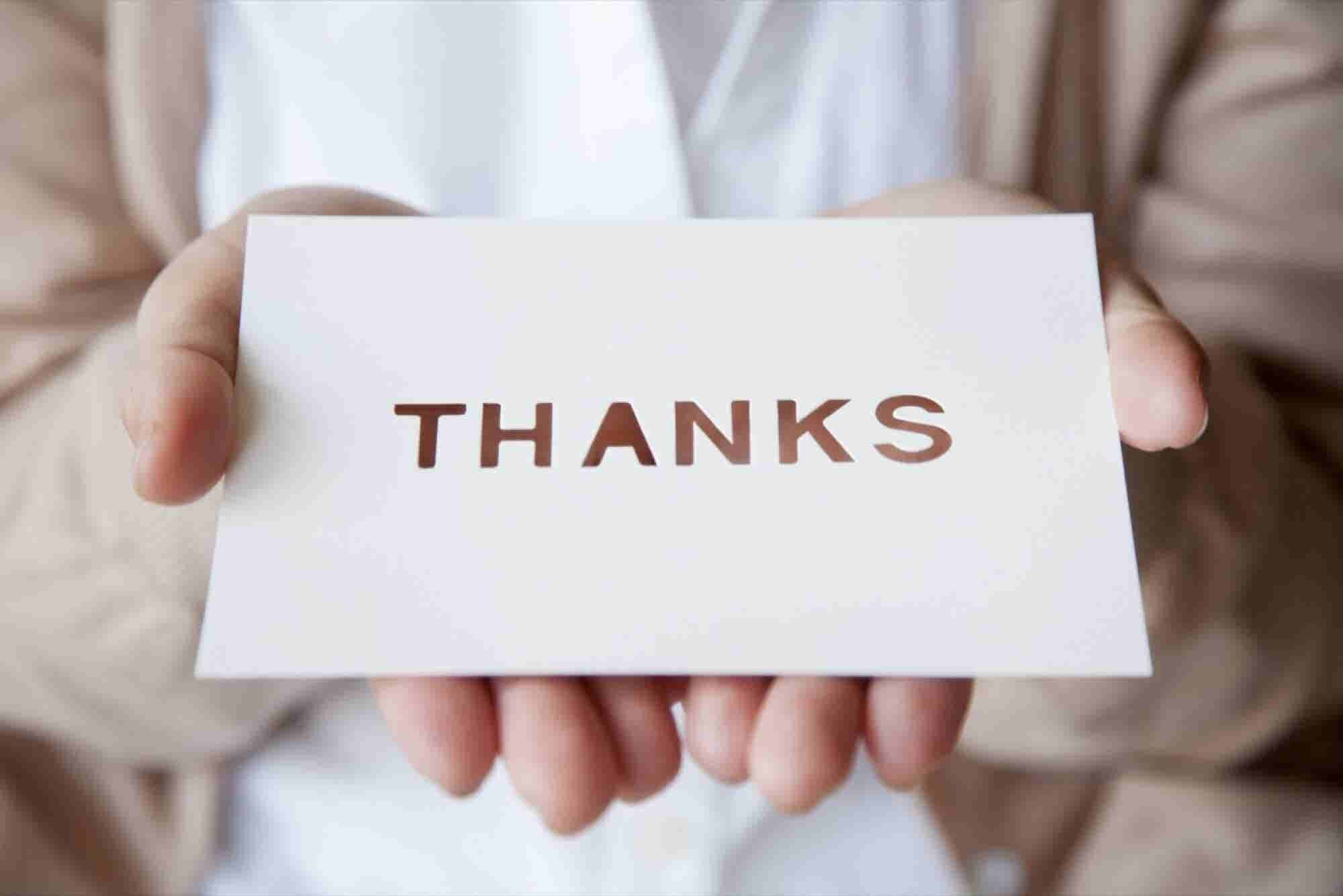 How to Send the Perfect Thank You Email and Create Long-Lasting Relationships