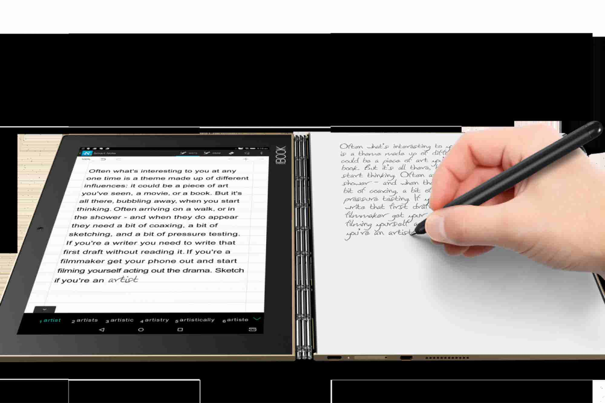 Light It Up: Lenovo Redefines 2-in-1 Category With Yoga Book