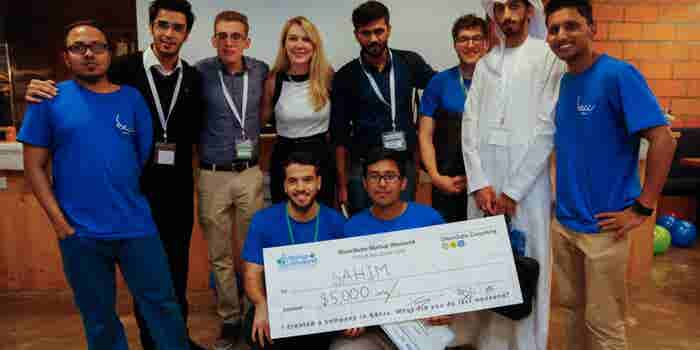 Sheraa Team Comes Out On Top At GlassQube Startup Weekend FinTech Abu Dhabi