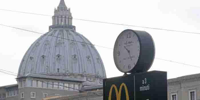McDonald's Opens Near the Vatican