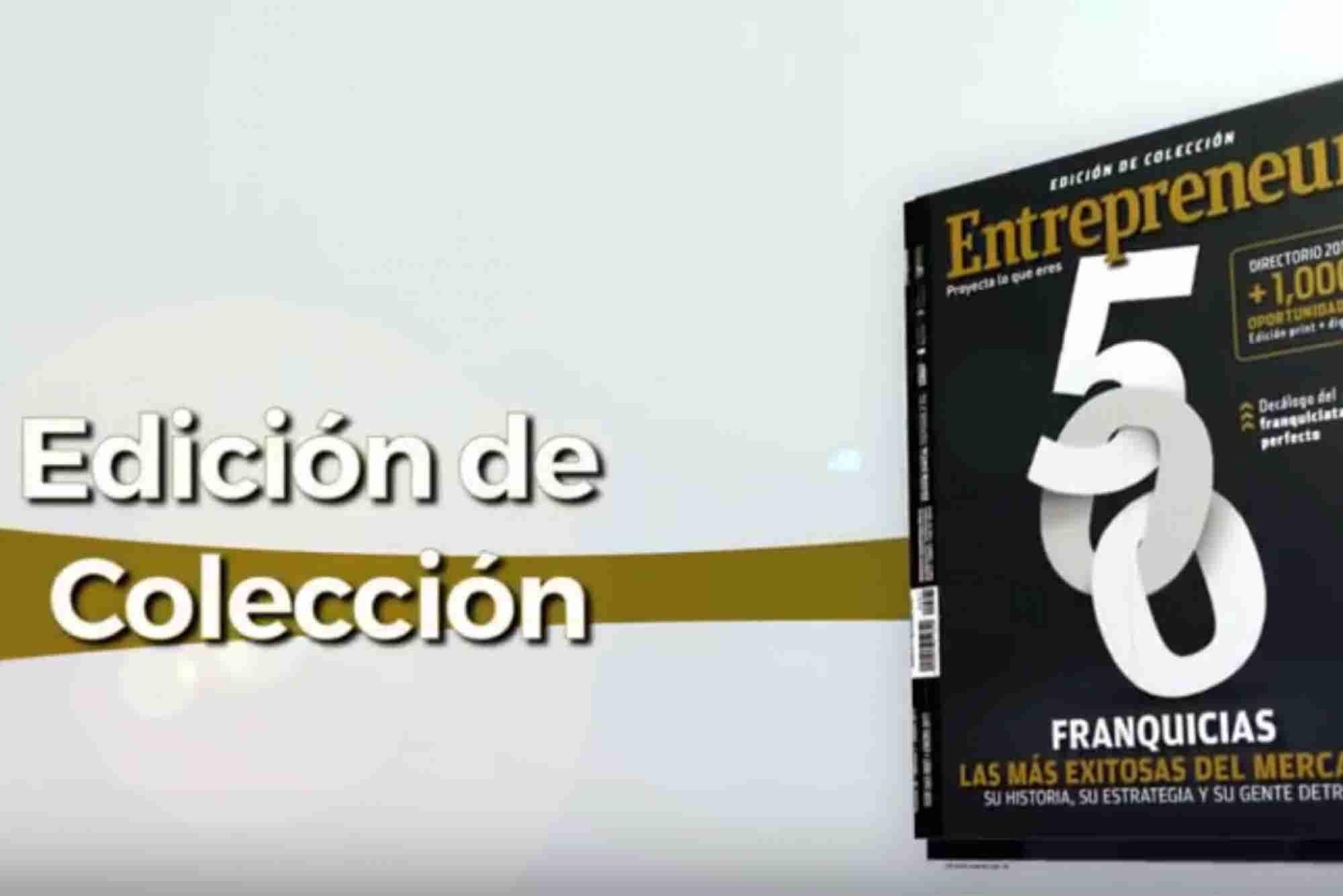 Video: ¡Llega la edición de colección de Entrepreneur!