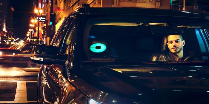 Uber's New Patented Light-Up Sign Will Help You Find Your Ride