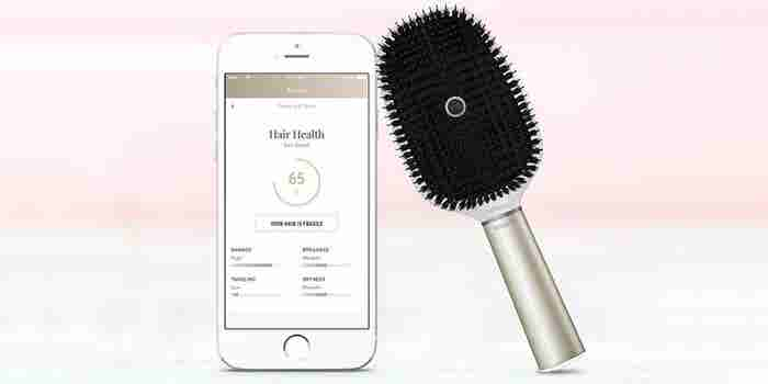 No More Bad Hair Days With This Smart Hairbrush