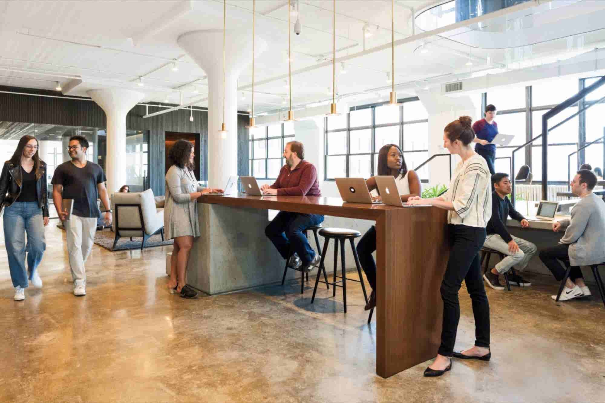 How Squarespace Designed a Sophisticated Headquarters Where Grownups G...