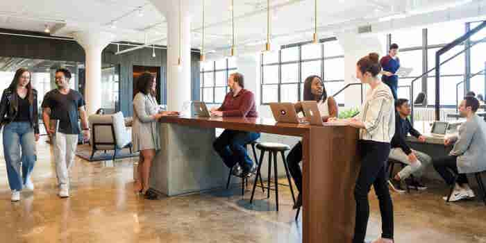 How Squarespace Designed a Sophisticated Headquarters Where Grownups Get Things Done