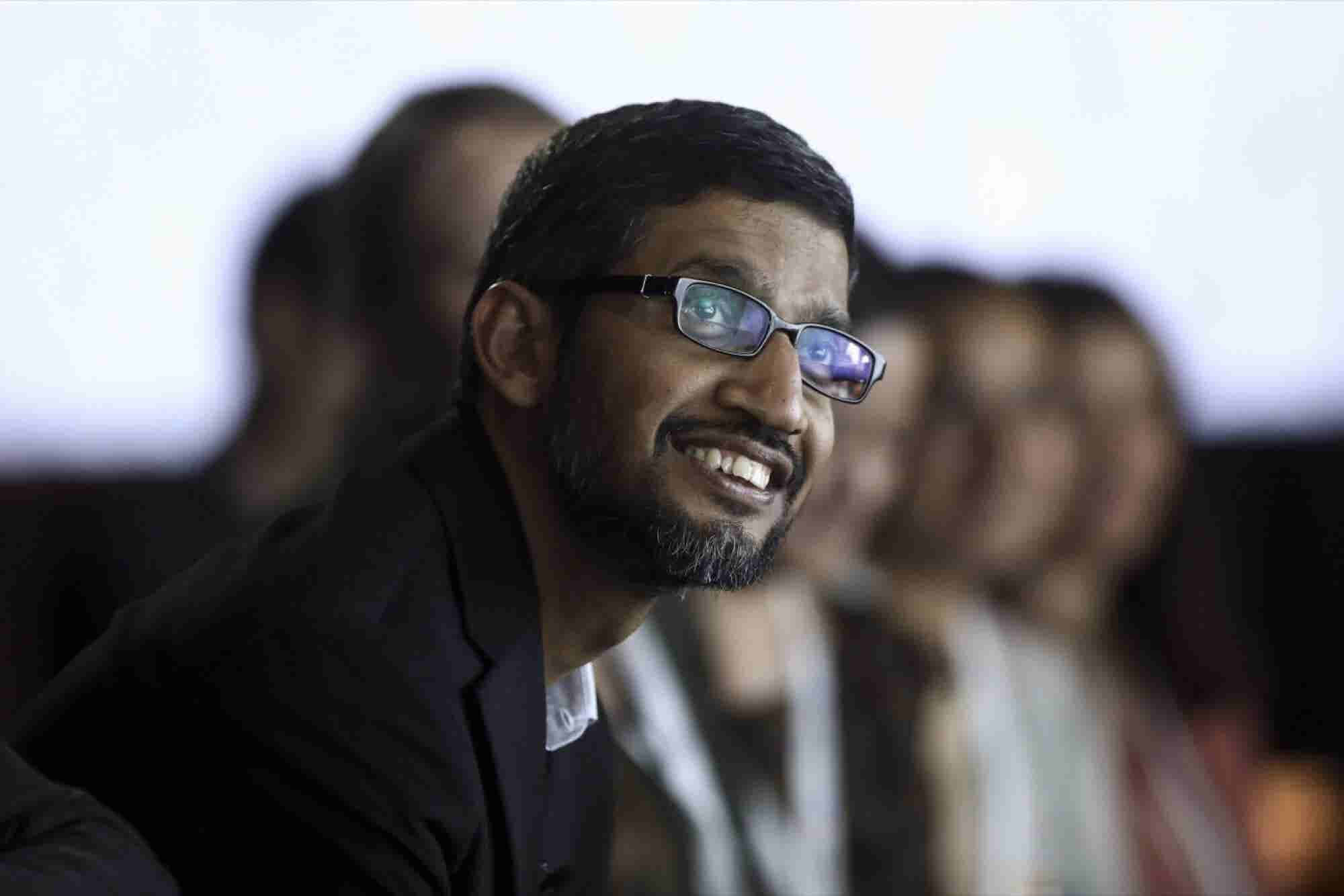 Google's CEO Shared Some Little-Known Personal Facts on a Visit to Ind...