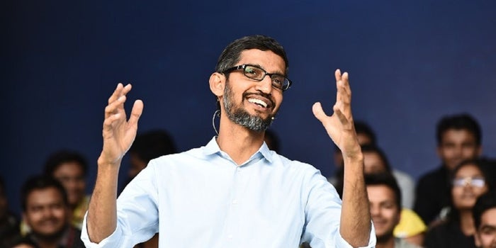 #5 Things Sundar Pichai Wants To Work On In India