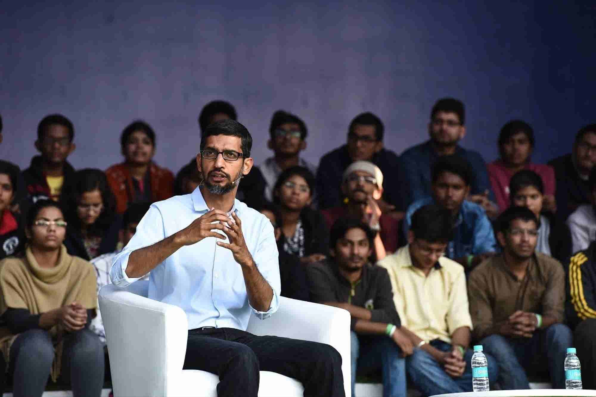 When We Solve a Problem for India, We Solve a Problem For the World Says Google CEO Sundar Pichai