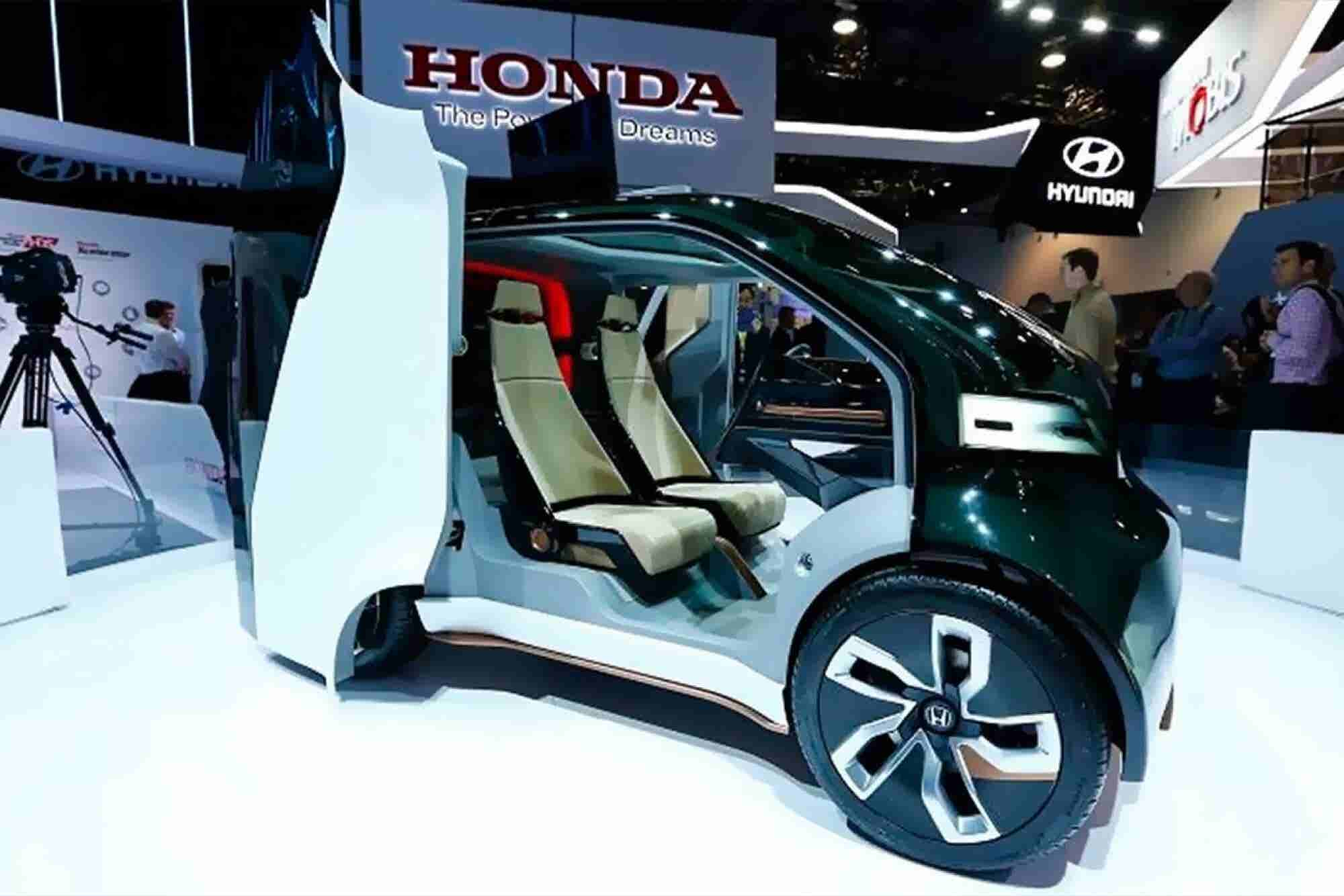 AI-Packed Honda Concept Is Ready for Autonomous Ride Shares