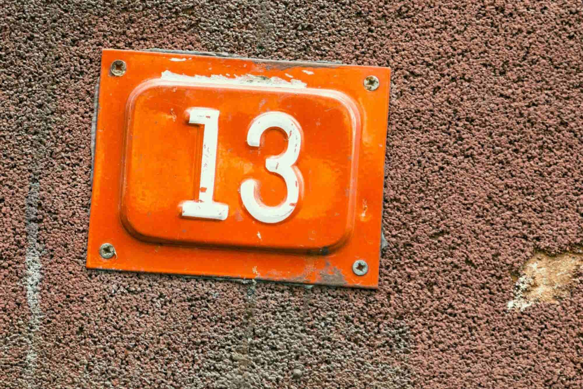 Friday the 13th and Other Unlucky Numbers From Around the World (Infographic)