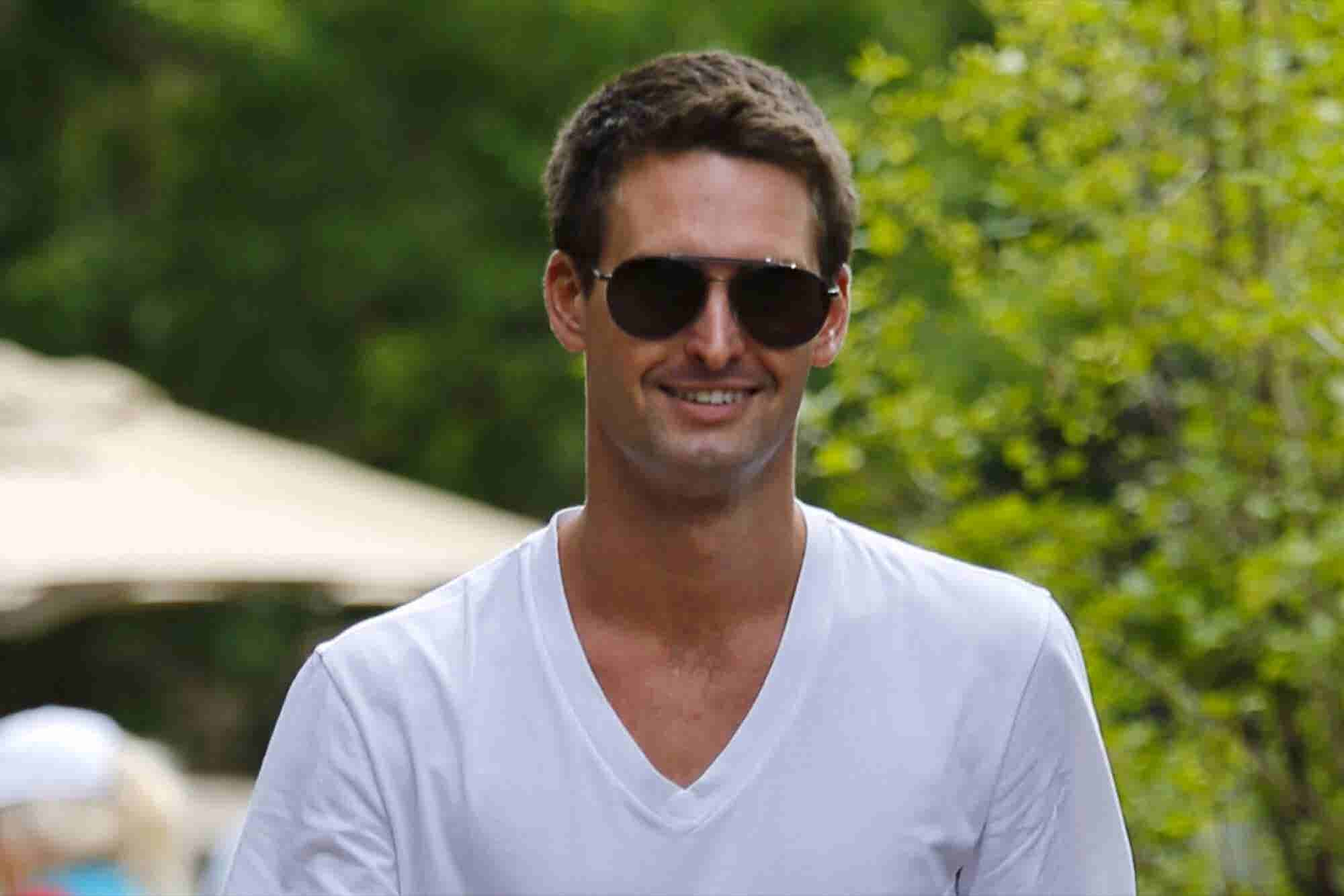 Evan Spiegel Is Selling His Vision to Investors Ahead of Snap's Huge I...